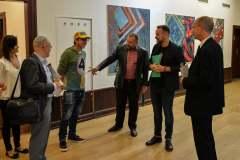 "Ausstellung ""Prag malt Berlin"", Foto: Simon Römer"